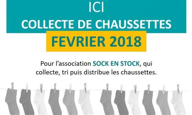 Collecte de Chaussettes !!!