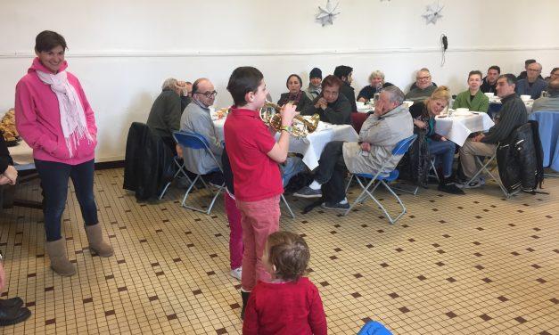 Le repas saint-michel à Lille