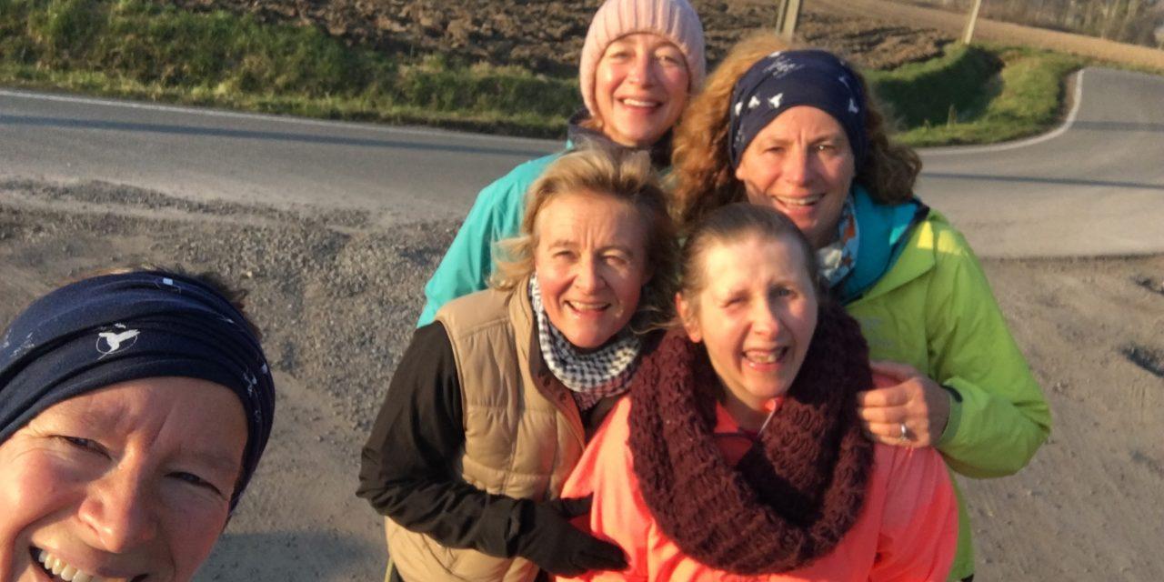 Jogging hebdo avec Brigitte