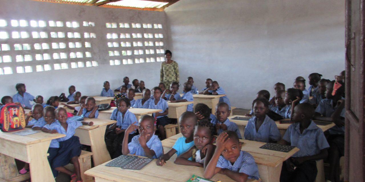 Construction d'une école et développement social // Bangui, Centrafrique