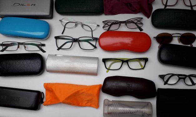 Collecte de lunettes