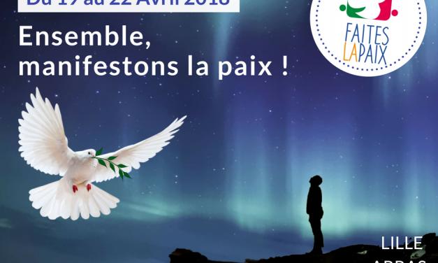 LA CHTITE MAISON SOLIDAIRE POUR «FAITES LA PAIX»