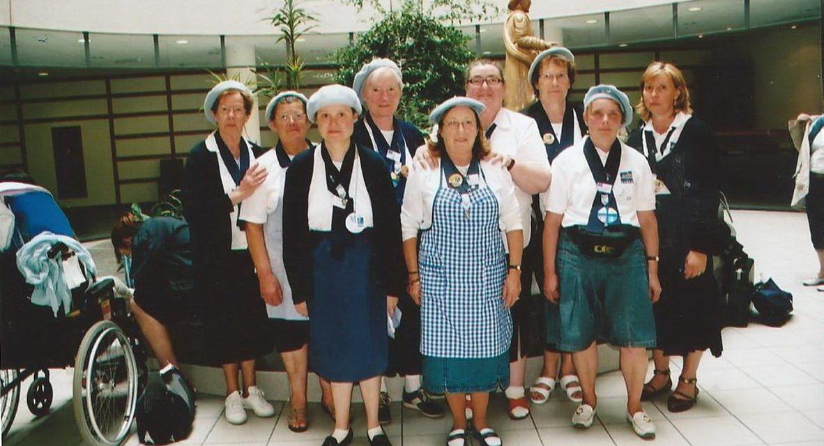 Le train blanc Hospitalité – Notre Dame de Lourdes